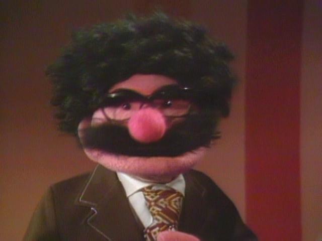 Gene Shalit Muppet