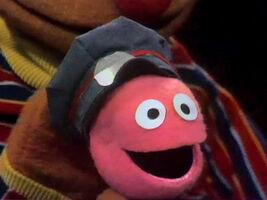 Rubber ball postman