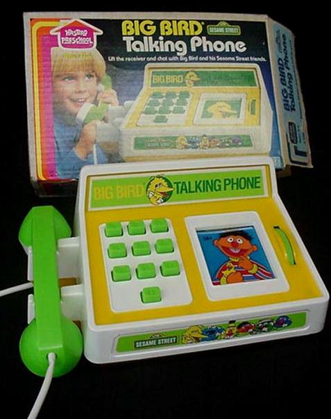 Big Bird Talking Phone