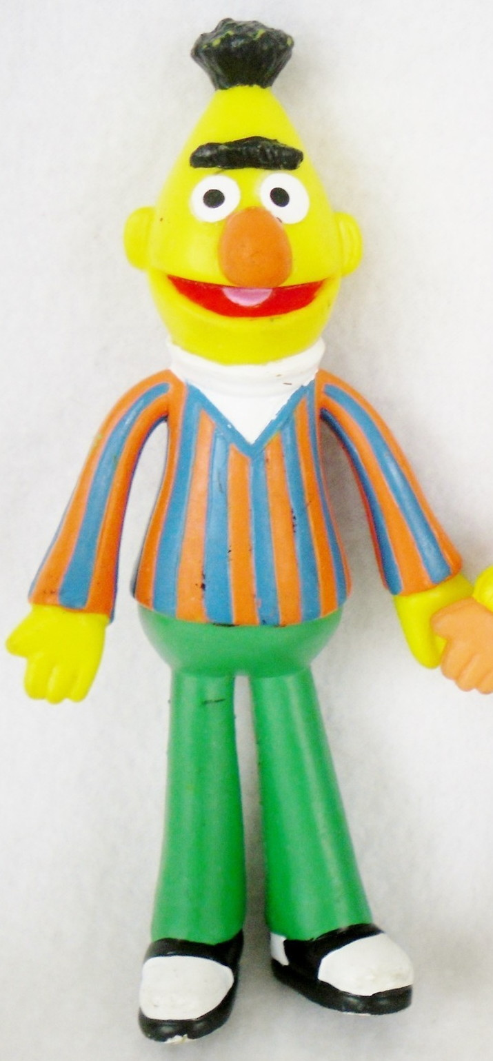Sesame Street bendable figures (Applause)