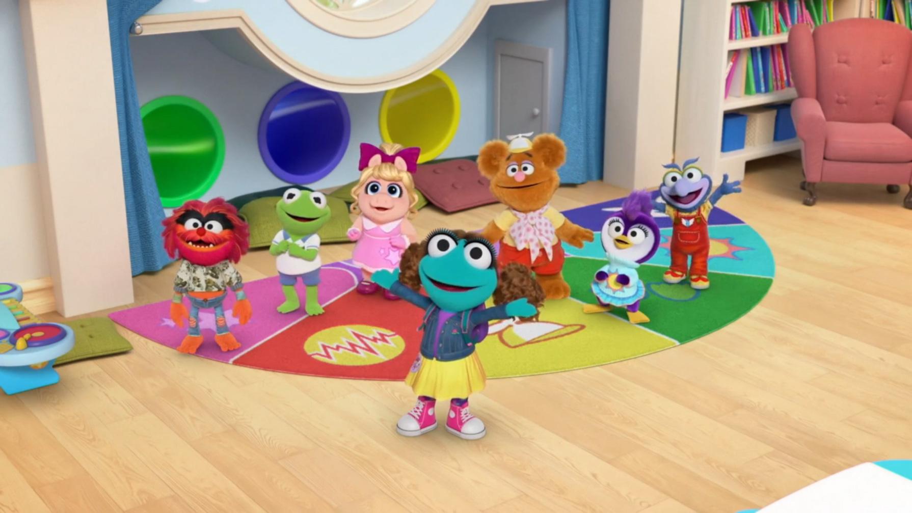 Muppet Babies 2021 A Very Muppet Babies Christmas Episode 313 A Very Sticker Situation Boo Boo Bamboozle Muppet Wiki Fandom