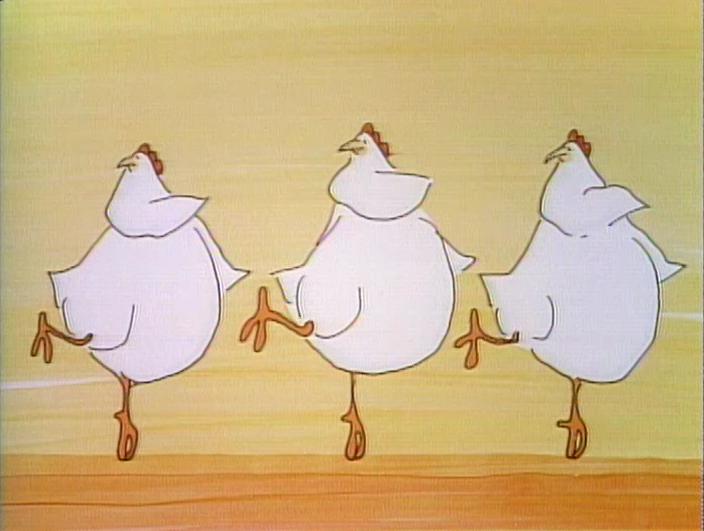 Three Waltzing Chickens