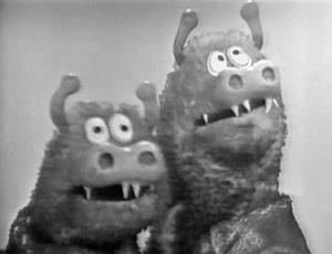 Two-Headed Muppet Monster