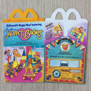 Muppet Babies Happy Meal box 04a