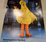 Holiday on ice 1979 poster big bird