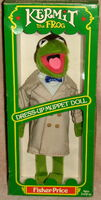 Fisher-price dress-up muppet doll kermit 1