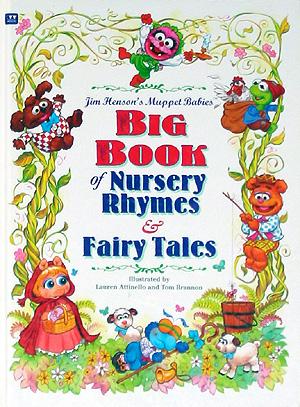 Big Book of Nursery Rhymes & Fairy Tales