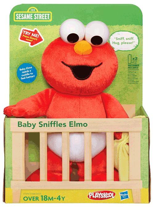 Baby Sniffles plush