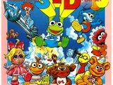 Muppet Babies Colorforms 3-D Play Set