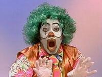 David clown Great Addini sketch