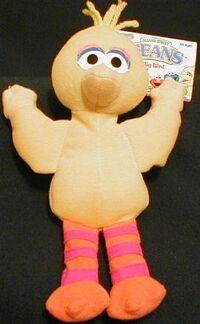 Tyco1997BigBird10inBeanie