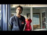Zach Braff and Elmo promo outtakes for Scrubs on ABC 2009