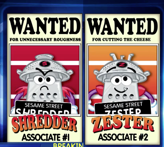 Zester and Shredder
