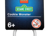 Sesame Street keychains (Lego)