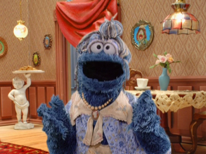 Cookie Monster's Grandma