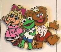Muppet babies disney pin