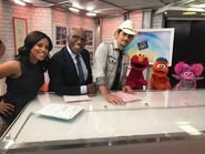 Today Show Aug 4 2017 Sheinelle Jones, Al Roker, Brad Paisley