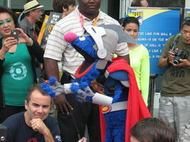 ComicCon2012 Super Grover 04