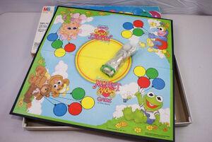 Muppet Babies 1984 board game 02