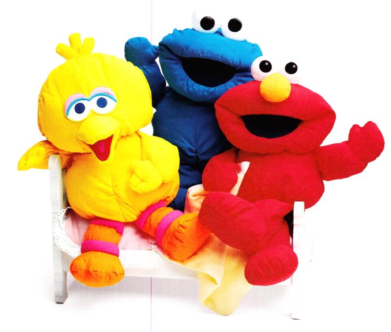 Sesame Street Soft Dolls