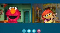 Julia and Elmo's Video Playdate