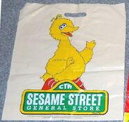 Sesame street general store shopping bags dd