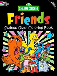Sesame Street coloring books (Dover Publications)