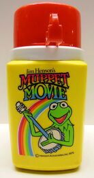 Thermos muppet movie 1979 kermit lunchbox