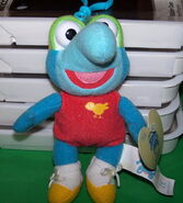 Clip toy play muppet babies clip-on plush gonzo 1
