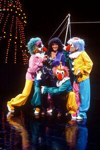 Clowns and Melissa Manchester