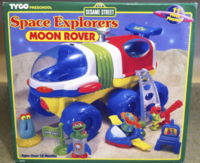 Moon Rover Back