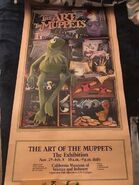 Art of the Muppets poster CA Museum of Science and Industry
