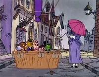 Nanny parasol MB311
