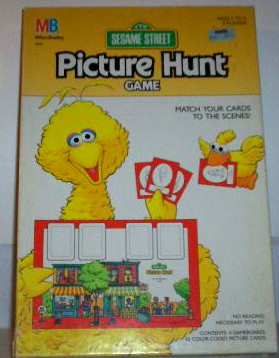 Sesame Street Picture Hunt Game