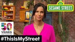 Sesame Street Memory Padma Lakshmi ThisIsMyStreet