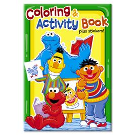 Sesamesunnydaysactivitybooks