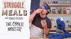 Cookie Monster Puts Chef Frankie's Taste Buds to the Test Struggle Meals