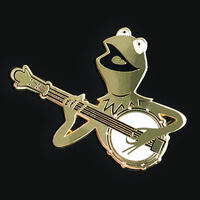 The Muppet Movie 40th anniversary D23 pin