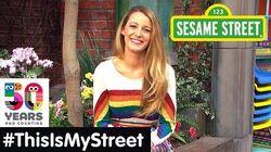 Sesame Street Memory Blake Lively ThisIsMyStreet