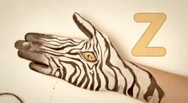 Hand-Zebra