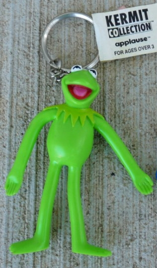 Muppet keychains (Applause)