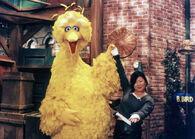 Margaret Cho and Big Bird
