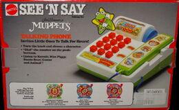 Mattel 1990 see 'n say talking phone 2