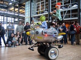 Mobile lab at pixar