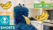 Sesame Street Fruit Snack Challenge Cookie Monster Snack Chat 4