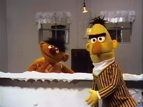 Ernie and Bert Sketches: Apartment