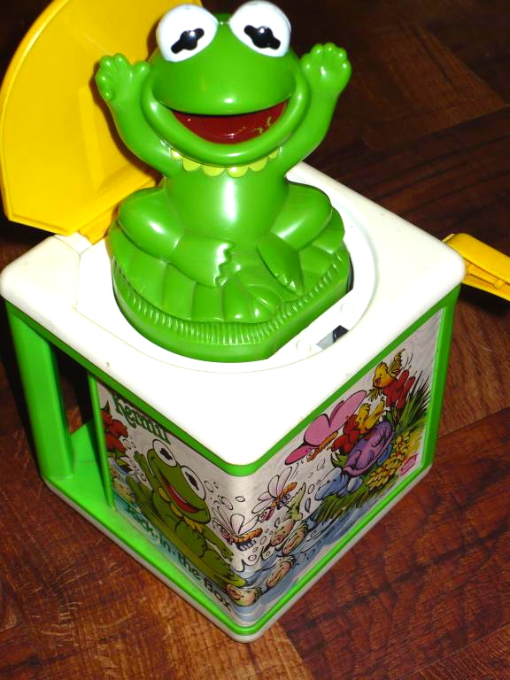 Muppet Babies Jack in the Box toys