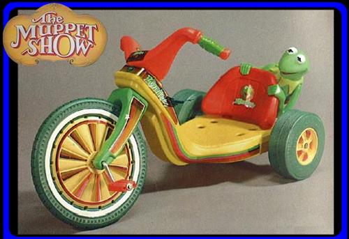 Muppet Show Big Wheels
