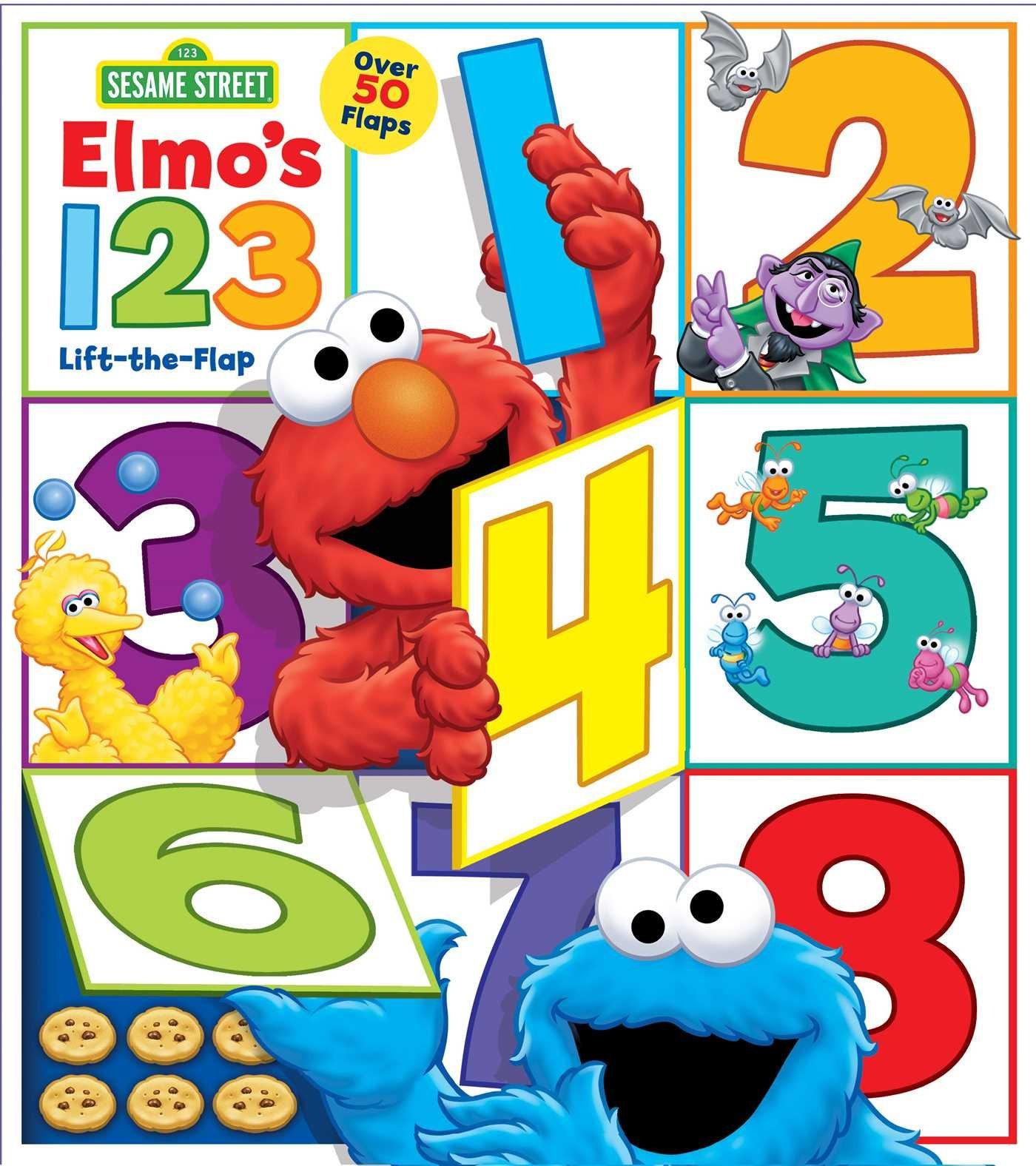 Elmo's 123 Lift-the-Flap