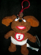Clip toy play 2003 clip-on baby rowlf